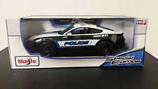 2015 Ford Mustang GT Police Special Edition Maisto 1:18 Diecast To Serve Protect
