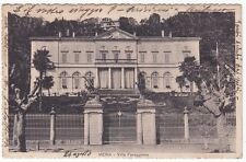 NOVARA MEINA 35 VILLA FARAGGIANA Cartolina VIAGGIATA 1934