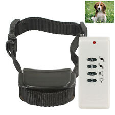 Remote Small Dog Training Shock + Vibrate Adjustable Collar Trainer System