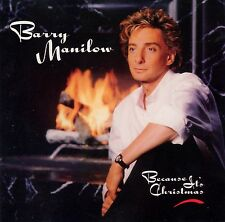 CD Christmas Barry Manilow Jingle Bells Song White Silent Night Its Cold Outside