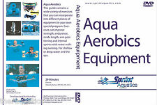 Aqua Aerobics DVD FITNESS Swim Class Therapy Strength Equipment Pool Gear Tools