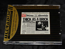 Jethro Tull Thick as a Brick SEALED (Ultradisc) MFSL 24kt Gold CD