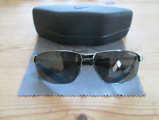 Nike Tour gunmetal glasses / sunglasses frames. EVO754 003 305. With case.