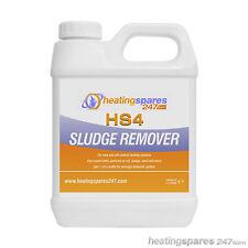 HS4 Central Heating Sludge Remover 1 liter ( like Fernox, Sentinel & Calmag )