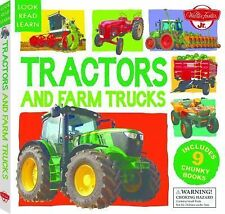 Look, Read, Learn: Tractors and Farm Trucks by Walter Foster Jr. Creative...