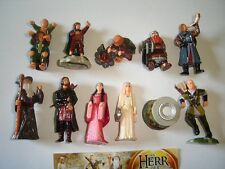 LORD OF THE RINGS 1 LOTR KINDER SURPRISE FIGURES SET -  FIGURINES COLLECTIBLES