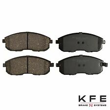 FRONT NEW Premium Ceramic Disc Brake Pad Set Shims Fits Nissan Infiniti KFE653