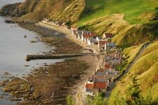 Framed Print - The Small Village of Crovie in the Scottish Highlands (Picture)