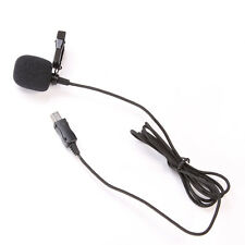 Mini USB External Microphone Mic with Collar Clip for GoPro Hero HD 3 3+4 Camera