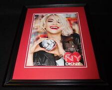 Rita Ora 2014 DKNY Framed 11x14 ORIGINAL Advertisement