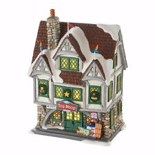 New 2016 Department 56 ELF The Movie Village Santa's Toy Shop Building 4053057