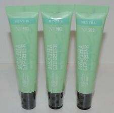 3 BATH & BODY WORKS LIPLICIOUS CO BIGELOW MENTHA LIP SHINE GLOSS MINT LOT NO 502