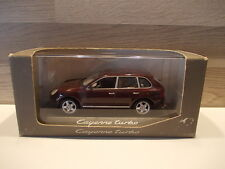 Minichamps 1/43 - Porsche Cayenne Turbo - dark red