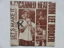 JOHN LEE HOOKER CANNED HEAT Let's make it UA 50779