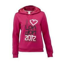 London 2012 Olympic Women's Wordmark Hoodie  Pink SIZE 10