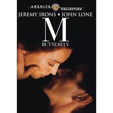 M Butterfly (1993) DVD Jeremy Irons, John Lone, Barbara Sukowa