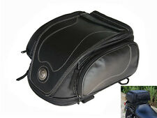 Tail Bag for Harley Davidson Sportster Dyna Softail 12 litre