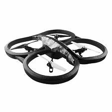 Parrot Snow AR Drone 2.0 Elite Edition Quadcopter with 720p HD Camera