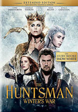 The Huntsman: Winter's War - Extended Edition DVD, Jessica Chastain, Rob Brydon,
