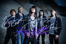 BLESSTHEFALL BAND SIGNED AUTOGRAPHED 10X8 INCH REPRO PHOTO PRINT BLESS THE FALL