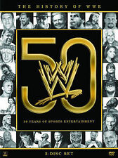WWE: The History of WWE – 50 Years DVD