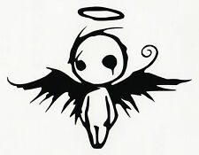 Gothic Dark Fallen Angel Of Death Decal / Sticker for Car
