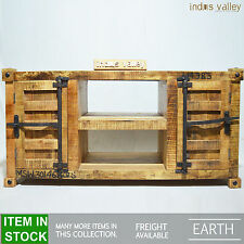 Earth container style designer industrial entertainment TV unit Plasma stand