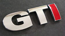 VW Chrome & Red GTI Badge TDI GT SPORT TURBO