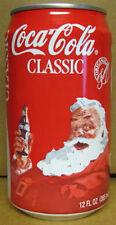 COCA-COLA 1992 SANTA CLAUS Coke Soda CAN, CHRISTMAS, Atlanta, GEORGIA, 1992-1622