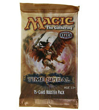 Magic Mtg Time Spiral Factory sealed Booster Pack X 3 !