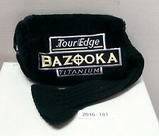 Bazooka Tour Edge Titanium Driver Headcover USED FREE Shipping 2016-181