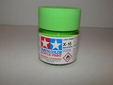 Tamiya Color Acrylic Paint Light Green #X-15 (23 ml) NEW