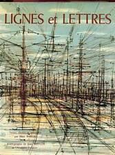 LIGNES ET LETTRES. ANTHOLOGIE LITTERAIRE DU CHEMIN DE FER. 1978. ED H.C 600 EX.