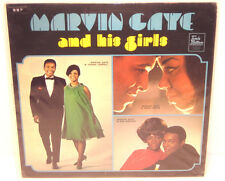 Tamla Motown Records MARVIN GAYE - AND HIS GIRLS - Album LP Tammi Terrell UK '69