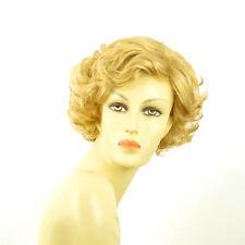 short wig for women curly light blond golden ref: juliette lg26 PERUK