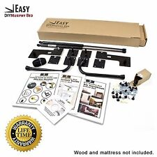 Full Size Vertical Wall Mount Easy DIY Murphy Bed Hardware Kit