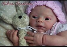 Beautiful Custom Made Reborn Doll From Down Syndrome Pebbles Kit ❤ Ready June