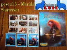 Panini  MERIDA  Starterset Leeralbum + 3 Tüten + 1 bogen mit 9 bilder NEU!!