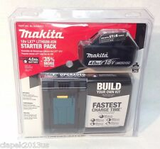 Makita BL1840BDC1 NEW LXT 18V Li-Ion BL1840B Battery & Charger - Starter SEALED