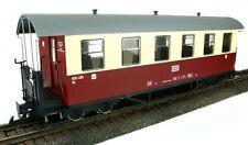 Train Line45 Personenwagen HSB rot-beige, 6 Fenster, Spur G, für LGB Kupplung