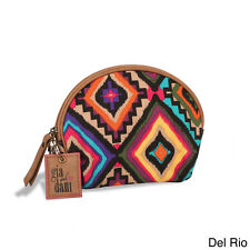 GIGI HILL GIA AND DANI SMALL MAKEUP COSMETICS BAG COIN PURSE  AZTEC DEL RIO NWT
