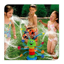 Banzai Wiggling Waterpillar 8 Sprinkling Water Sprinkler Garden Toy Outdoor Kids