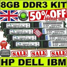 8GB(4x2GB)PC3-10600R DDR3 ECC Memory KIT For Dell PowerEdge R310 R410 R415 R510