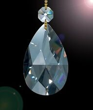 """Set of 50 2"""" High Quality 30% Lead Tear Drop Crystals For Lamp & Chandeliers!"""