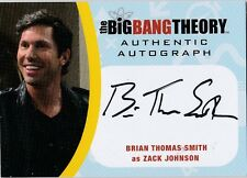 THE BIG BANG THEORY SEASONS  6 & 7 BTS2 BRIAN THOMAS SMITH AS ZACK AUTOGRAPH