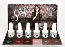 Harmony Gelish Soak-Off - UNDER HER SPELL Collection -All 6 Shades 01576-01581