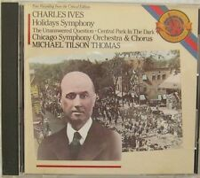 Charles Ives Holidays Symphony Chicago Symphony Orchestra CD CBS MK42381 1988