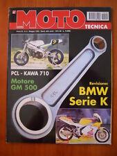 MOTO TECNICA n°5 1995 Bmw serie K - PCL Kawa 710 Motore GM 500  [P72]