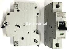 DORMAN 32 Amp Tipo B 32A SMITH Unipolar/fase Reja de desminado Disyuntor X1PB32