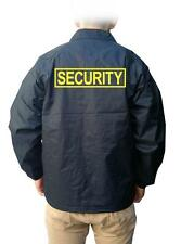 NW Men's Printed SECURITY Snap Front Windbreaker Water Proof Coaches Jacket